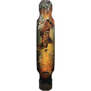 "Moonshine Hoedown Medium 48"" longboard deck"
