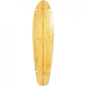 "Moose Blank Bamboo Nature 40"" kicktail longboard deck"