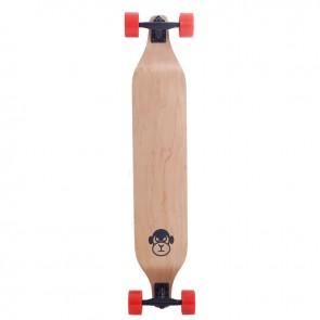 """Moose Monkey Drop Down Orange 40"""" longboard complete"""