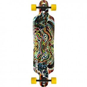"Omen Thai Warrior 41"" drop-through longboard complete"