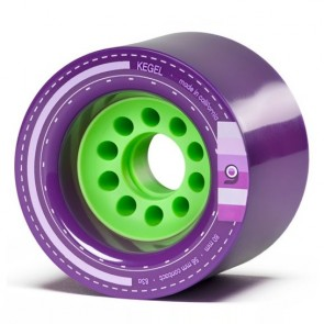 Orangatang Kegel 80mm 83a Purple Longboard wielen