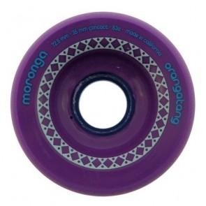 Orangatang Moronga 72.5mm 83a Purple longboard wielen