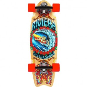 "Riviera Endless Wave 28.5"" mini longboard complete"