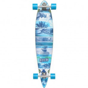 "Riviera Essence 40"" pintail longboard complete"