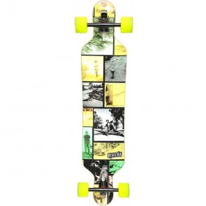 "Riviera Wide Open 41.3"" drop-through longboard complete"