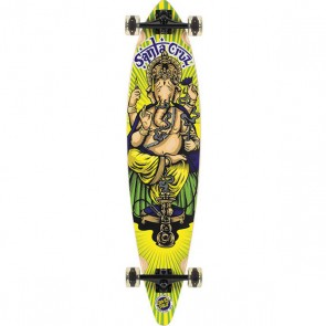 "Santa Cruz Ganesh DISCO Pintail 43.5"" longboard complete"