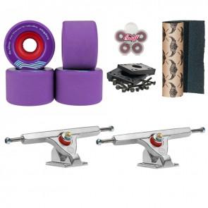 Slide Longboard Setup Caliber II Fifty 10 + Orangatang Kilmer 69mm-83a
