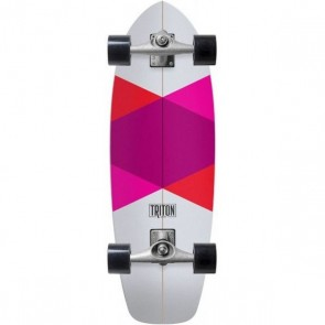 "Triton Red Diamond 29"" surfskate complete"