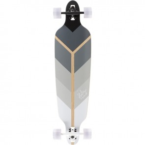 "Voltage Directional DT Grey 39.75"" longboard complete"