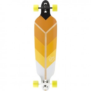 "Voltage Directional DT Yellow 39.75"" longboard complete"